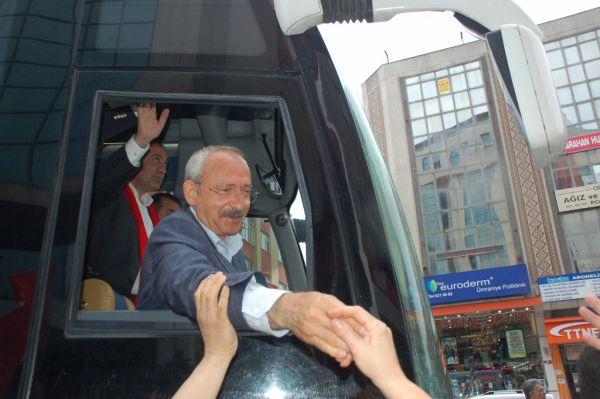 Kılıçdaroğlu İstanbul da 1