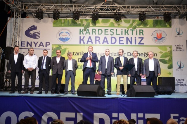 Kardeşlik Karadenizdir festivali Kağıthane'de başladı 1