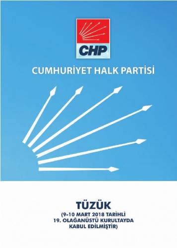 2018 CHP Tüzüğü 1