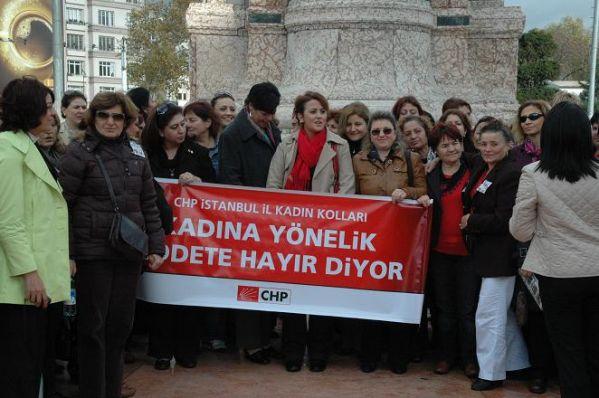 CHP Kadına Şiddet 16