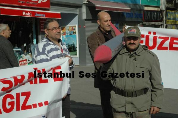 Türkiye Partisi Füze Protestosu 1