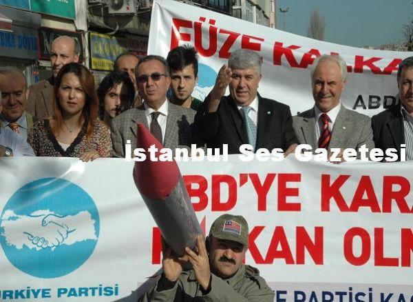 Türkiye Partisi Füze Protestosu 10