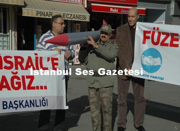 Türkiye Partisi Füze Protestosu 3