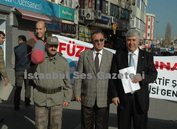 Türkiye Partisi Füze Protestosu 5
