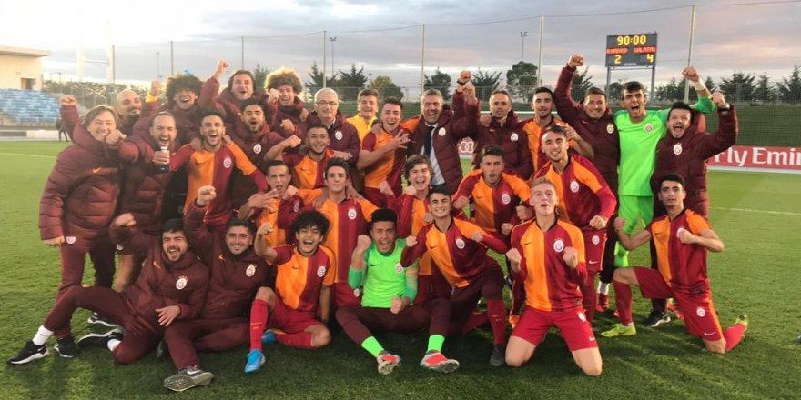 REAL MADRİD U19 - GALATASARAY U19: 2-4