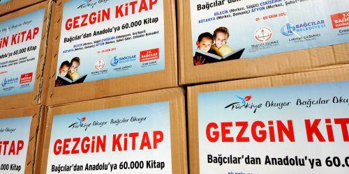 Bağcılar'dan Anadolu'ya 60 bin kitap