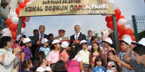Kemal Coşkun Parkı, Kağıthane Merkezde açıldı