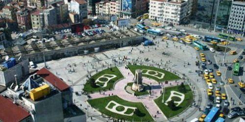 Taksim'in yeni yüzünde son adıma gelindi