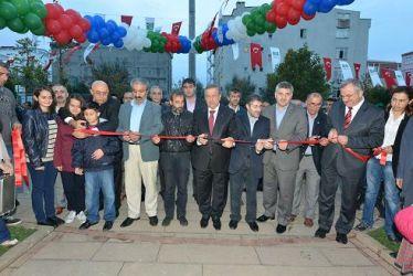 Bahcelievler'de Vedat Ulusoy Parkı açıldı