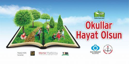 Sultangazi'de okullar 'Yaşam Mekezi'ne dönüşüyor