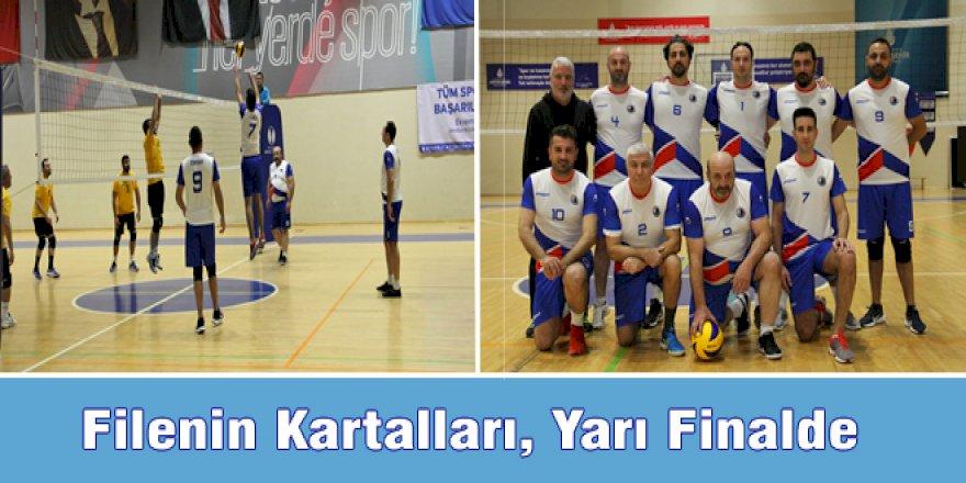 FİLENİN KARTALLARI, YARI FİNALDE