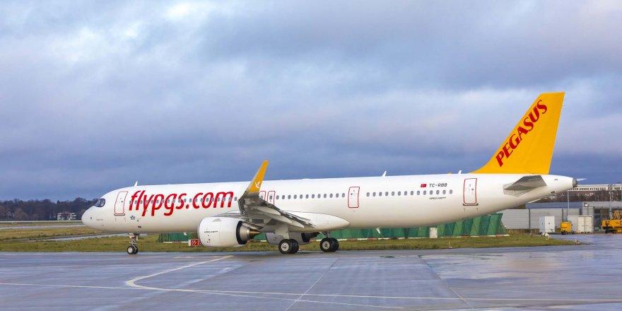 PEGASUS'UN İKİNCİ 'A321 NEO'SU FİLOYA KATILDI