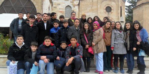 Esenlerli öğrenciler Mevlâna diyarında