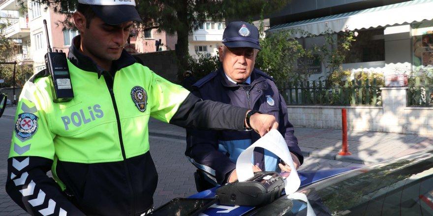 POLİS VE ZABITADAN ORTAK TRAFİK DENETİMİ
