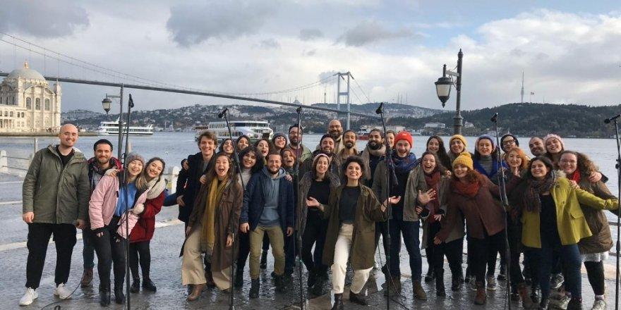 Bm'nin Öncülük Ettiği Küresel İklim Hareketinin Türkiye Elçisi Chromas Korosu Oldu