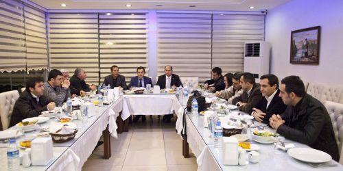 Sultanbeyli gazetecileri ağırladı