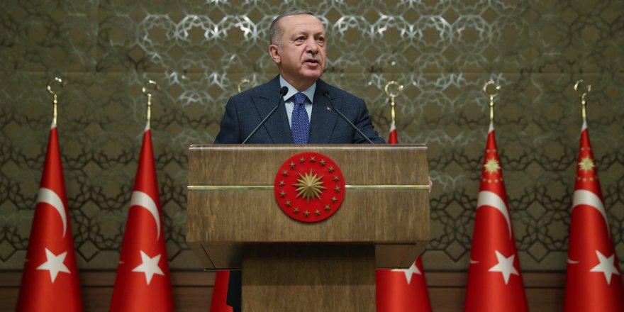 CUMHURBAŞKANI ERDOĞAN: EN YAKIN ZAMANDA KANAL İSTANBUL'A BAŞLAYACAĞIZ
