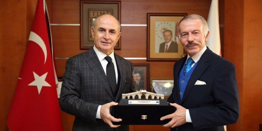 Başkan Akgün'den Aydıner'e Ziyaret