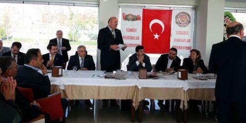 Türkiye Muhtarları İstanbul'da buluştu…