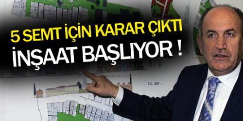 İstanbul'da 5 tarihi meydan yenileniyor !