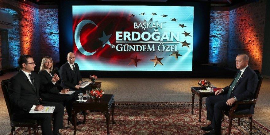 """Cumhurbaşkanı Erdoğan: """"(Libya Mutabakatı) Türkiye'nin Haklarını Hiçe Sayanları Rahatsız Ediyor"""""""