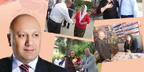 Murat Kapan,Emekçi kadınları ağırladı