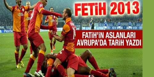 Galatasaray Schalke'yi eledi