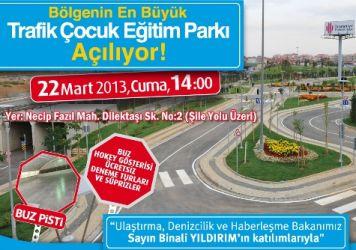 Çocuklara trafik parkı açılıyor