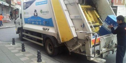 Ambalaj atıkları toplanıyor