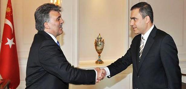 Gül, MİT Müsteşarı Fidan'ı kabul etti