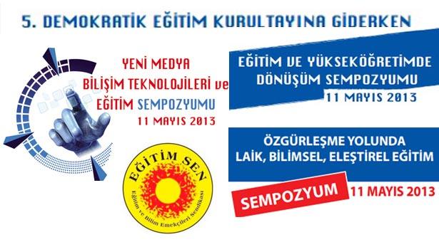 Eğitim-Sen, DEK'e Ankara, İstanbul ve İzmir'de sempozyumlarla hazırlanıyor