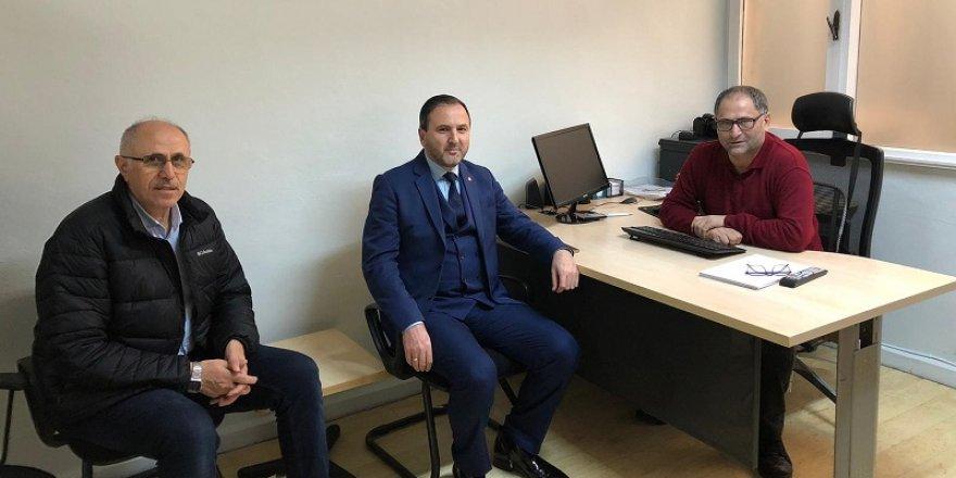 Saadet Partisi Kâğıthane'den, İstanbul Ses Gazetesi'ne Ziyaret