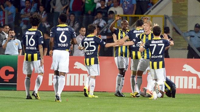 Kupa yine Fenerbahçe'nin