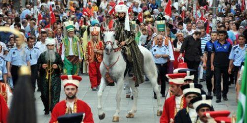 İstanbul'un fethi Gaziosmanpaşa'da canlandı