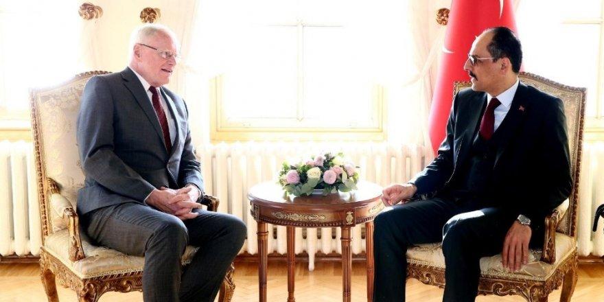 Cumhurbaşkanı Sözcüsü Kalın, Abd'nin Suriye Özel Temsilcisi Jeffrey İle Görüştü