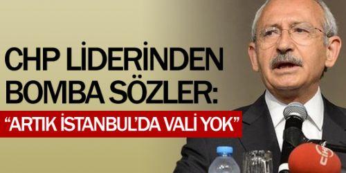 Artık İstanbul'da vali yok