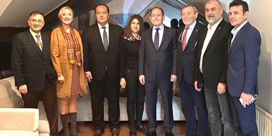 Milletvekili Hamzaçebi'den Tümbikon Genel Başkanı Akay'a Ziyaret