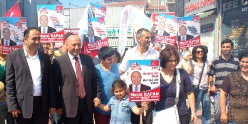 CHP Maltepe'de Murat Kapan aday adaylığını açıkladı