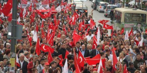 Bakırköy'de Zafer Bayram'ı coşkusu