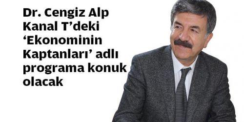 Dr. Cengiz Alp. Kanal T'de Canlı Yayın Konuğu