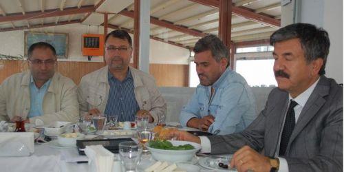 Cengiz Alp basın mensuplarıyla kahvaltıda buluştu