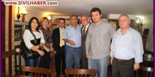 İlhan Dabakoğlu 'nun STK'a ziyaretleri devam ediyor