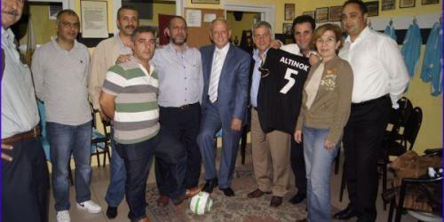 İlhan Dabakoğlu'dan Fatih Amatör Spor Kulüplerine ziyaret
