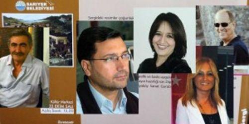 5 gazeteci 22 Ekim'deki sergi ve imza gününde buluşuyor
