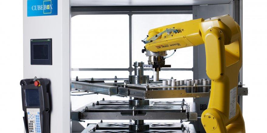GİRİŞ-ÇIKIŞ BAĞLANTIYLA 11 ROBOT - 34 MAKİNA HABERLEŞEBİLİYOR