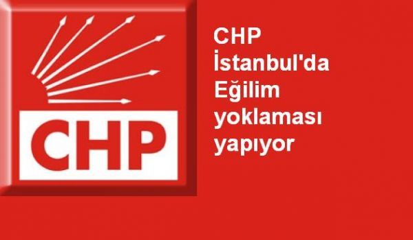 CHP İstanbul'da Eğilim yoklaması yapıyor