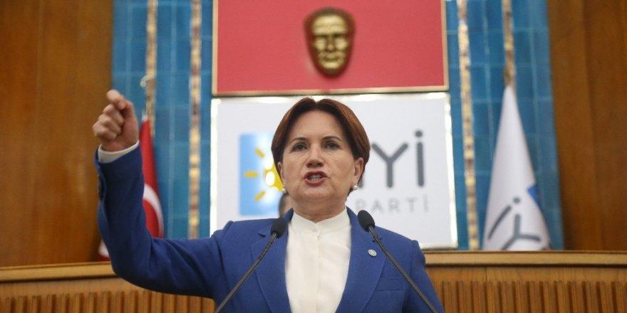 Meral Akşener'den, KKTC Cumhurbaşkanı Mustafa Akıncı'ya tepki