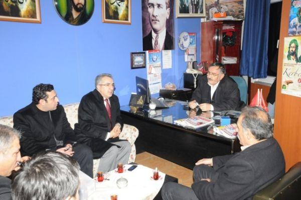 MHP Kağıthane'den Cem evi ziyareti