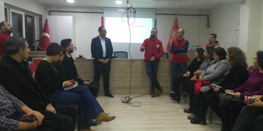 CHP Kâğıthane'den Depreme karşı hazırlık paneli