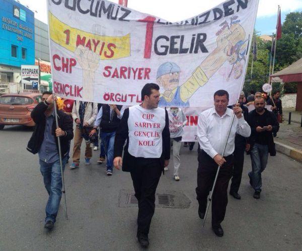 CHP Sarıyer Örgütü 1 Mayıs'ta..!